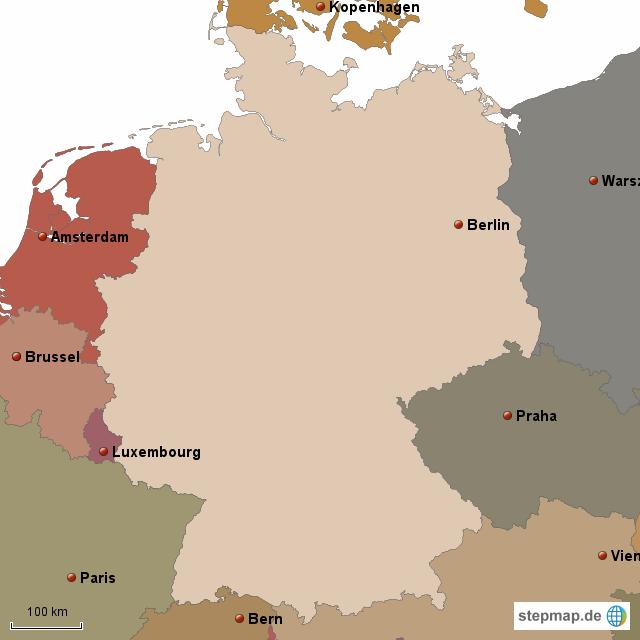 bundesrepublik deutschland angrenzende länder
