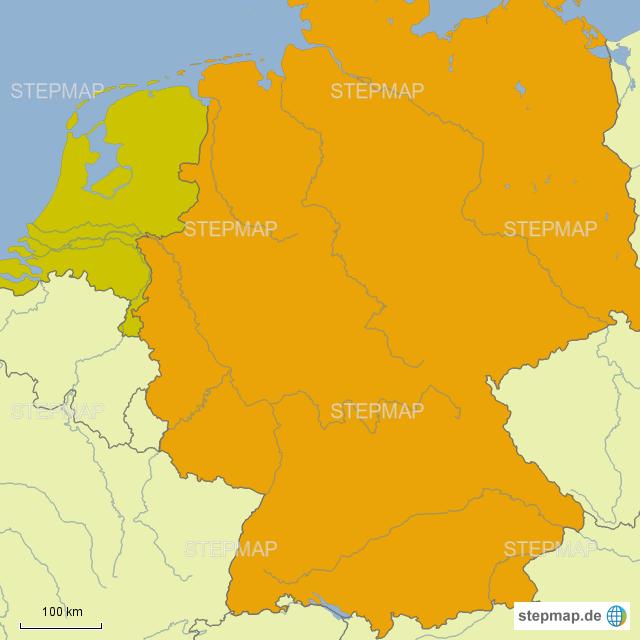 Karte Von Holland Landkarte Niederlande.Stepmap Deutschland Und Holland Landkarte Für Deutschland