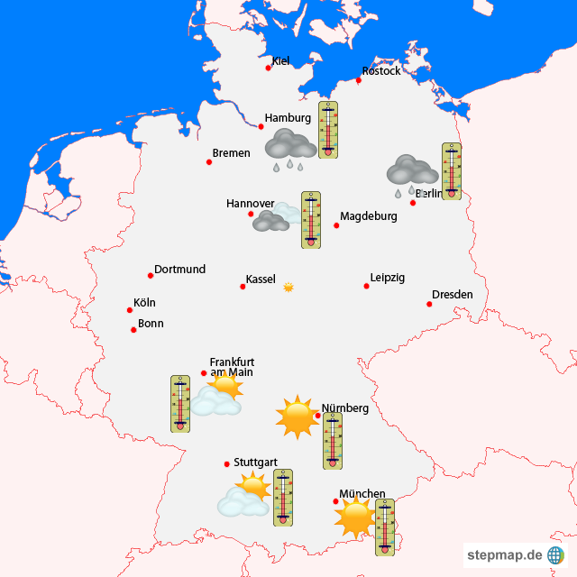 Wetter Deutschland Karte