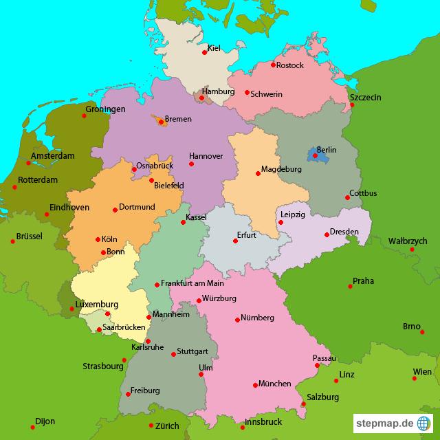 städte mit a in deutschland
