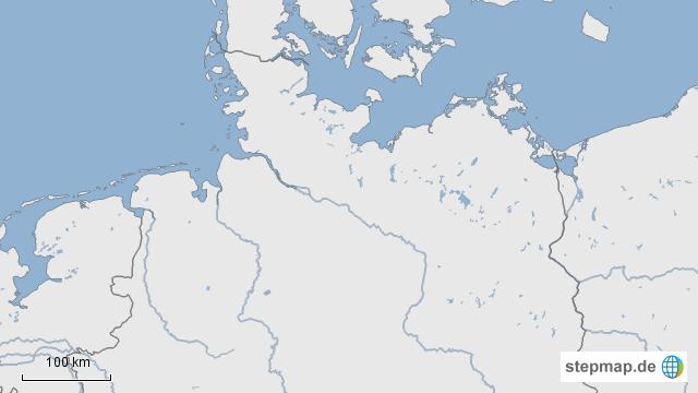 landkarte küste deutschland StepMap   Die Deutsche Küste   Landkarte für Deutschland