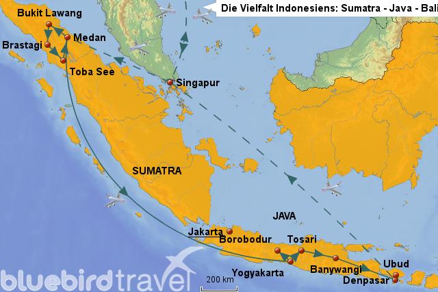 StepMap - Die Vielfalt Indonesiens: Sumatra - Java - Bali ...