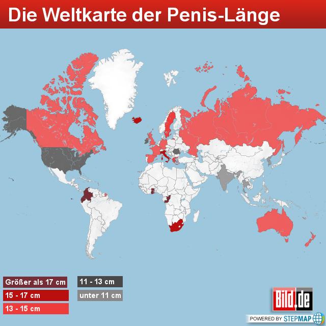 durchschnittliche penisgröße deutschland