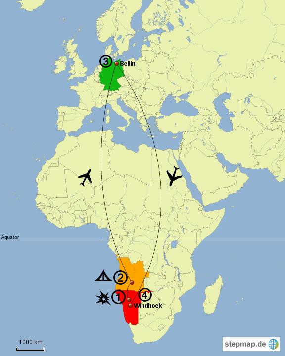 Afrika Karte Deutsch.Stepmap Die Deutsch Afrikanische Odyssee Landkarte Für Afrika