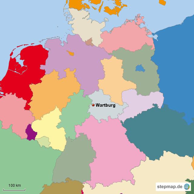 eisenach karte deutschland StepMap   Eisenach   Landkarte für Deutschland