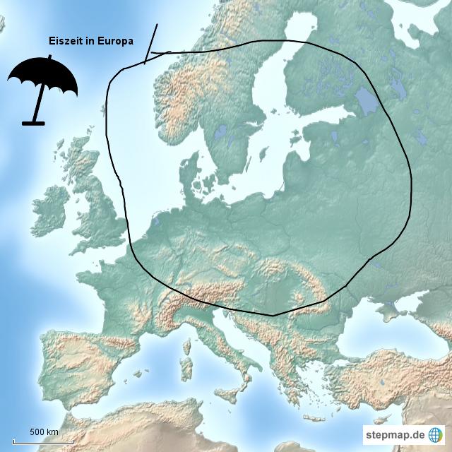 Europa Eiszeit