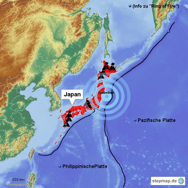 Südkorea Erdbeben