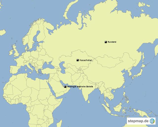 Karte Europa Asien.Stepmap Europa Asien Und Afrika Landkarte Fur Welt