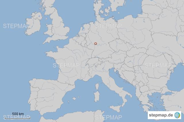 Frankfurt Karte Europa.Stepmap Europa Karte Mit Frankfurt Landkarte Für Deutschland
