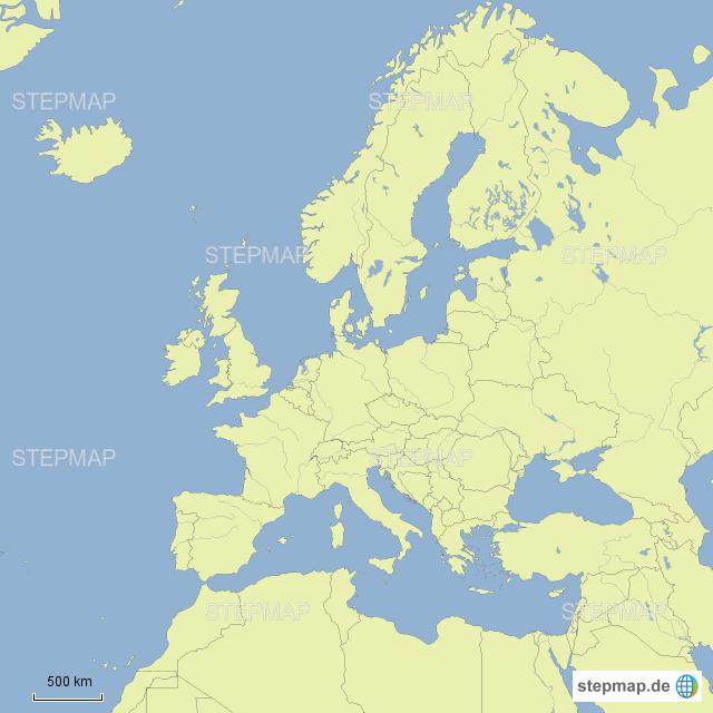 Mittelmeer Karte Europa.Stepmap Europa Mittelmeer Landkarte Fur Deutschland