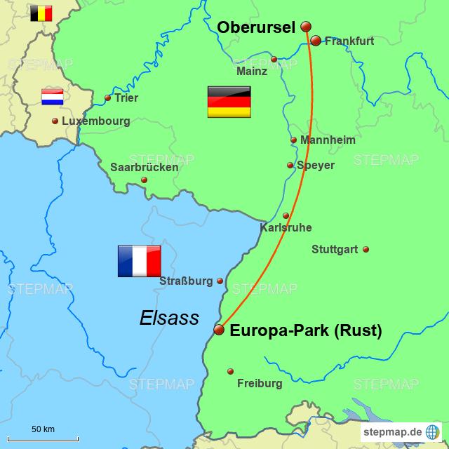 Europa Park Karte.Stepmap Europa Park Landkarte Fur Deutschland
