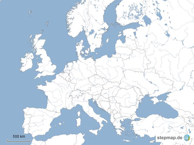 europa einfach inkl t rkei von lina1985 landkarte f r. Black Bedroom Furniture Sets. Home Design Ideas