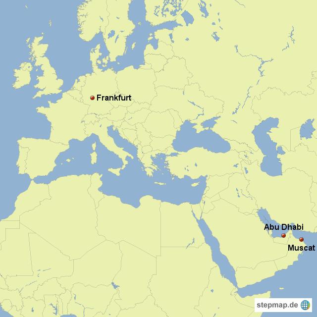 Nahost Karte.Stepmap Europa Und Nahost Landkarte Für Deutschland