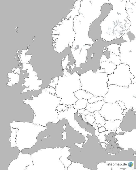 Europa pdf landkarte