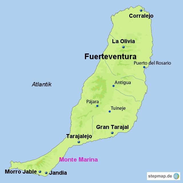 Fkk Fuerteventura Karte | Karte