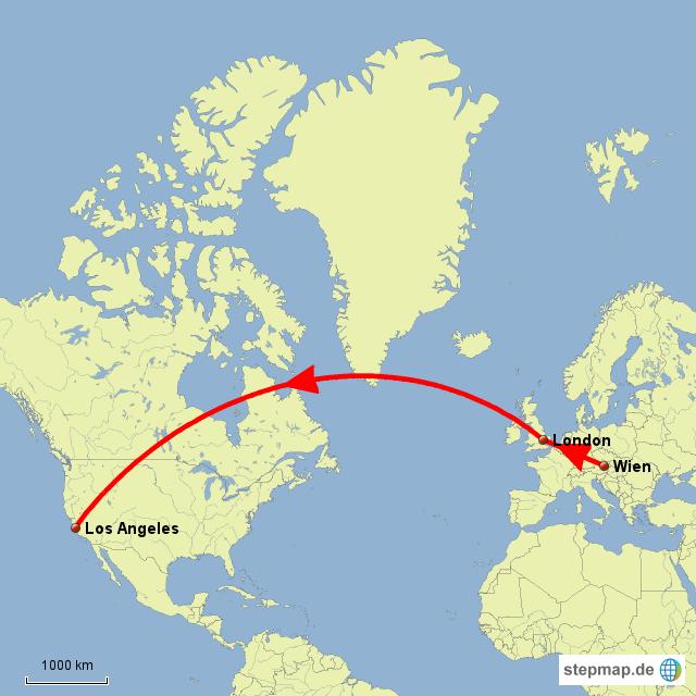 Stepmap Flug Wien La Landkarte Für österreich