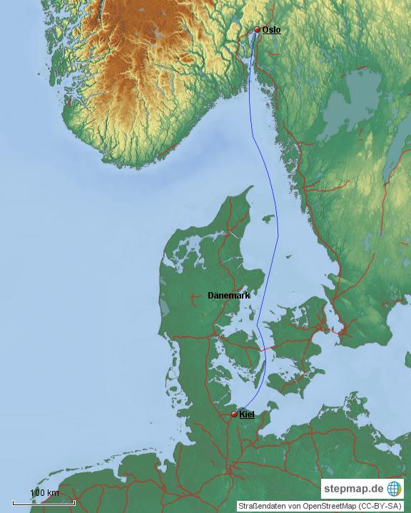 Fähre Kiel-Oslo