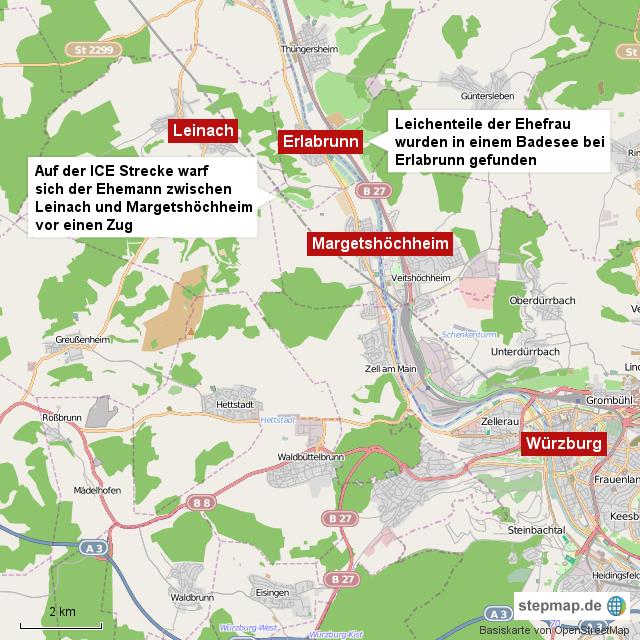 Landkreis Würzburg Karte.Stepmap Familiendrama Bei Würzburg Landkarte Für Deutschland
