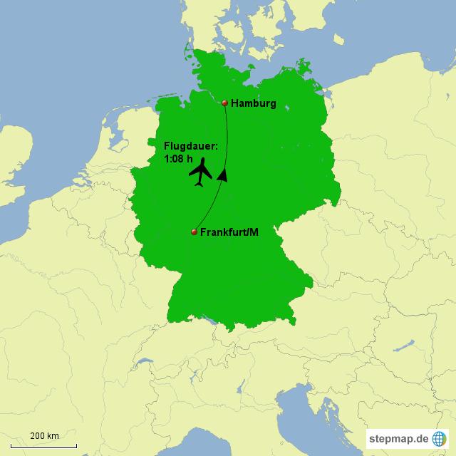flüge hamburg frankfurt