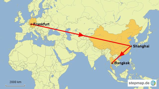 Flug Shanghai Frankfurt Ankunft