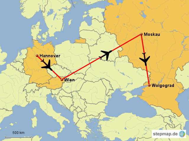 wolgograd karte StepMap   Flug Wolgograd   Landkarte für Deutschland wolgograd karte