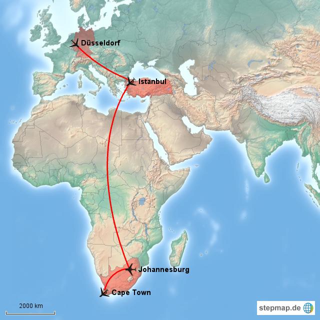 Flug Nach Kapstadt Dauer