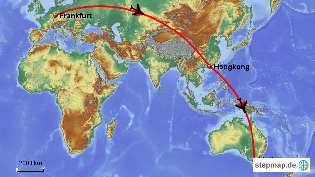 Flug Nach Kiribati