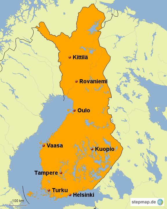 Finnland Italien