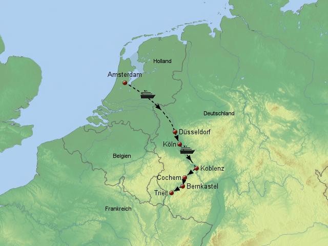 Main Fluss Karte.Stepmap Flussperlen Rhein Main Mosel Landkarte Für Deutschland