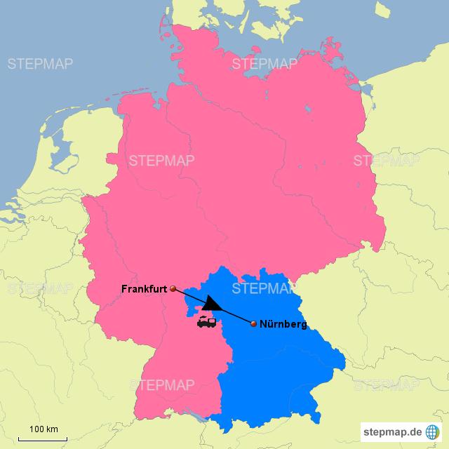 Nürnberg Frankfurt