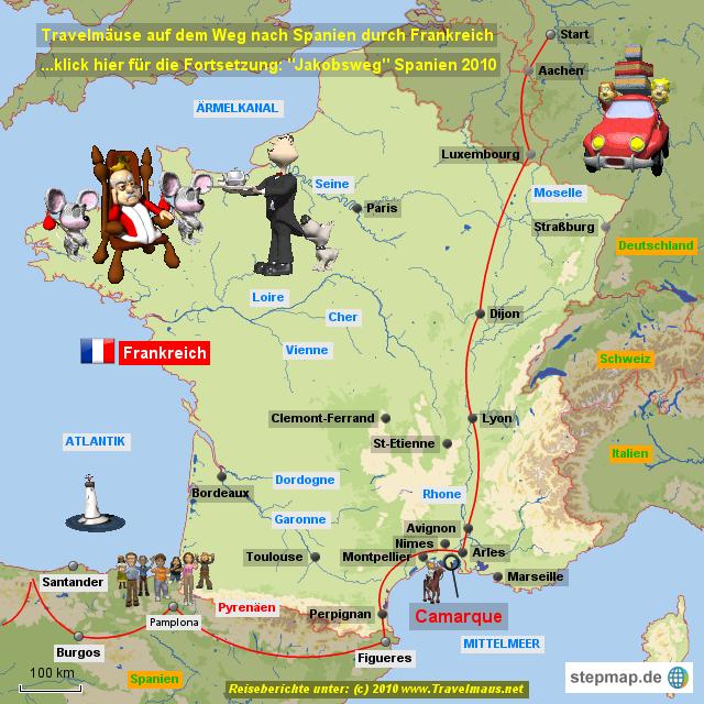 Camargue Karte.Stepmap Frankreich 2010 Landkarte Für Frankreich