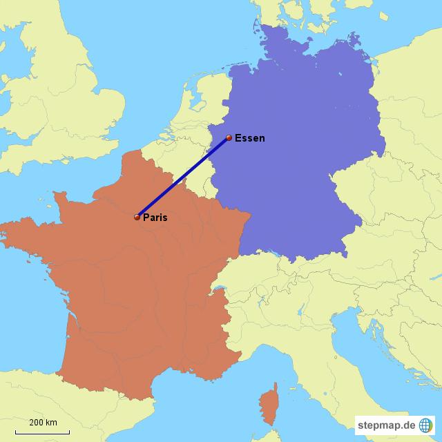 deutschland frankreich karte StepMap   Frankreich   Deutschland   Landkarte für Deutschland deutschland frankreich karte