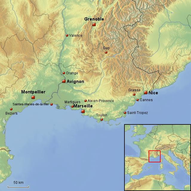 landkarte nizza frankreich StepMap   Frankreich,Nice,Nizza,Montpellier,Marseille,Cannes,Saint