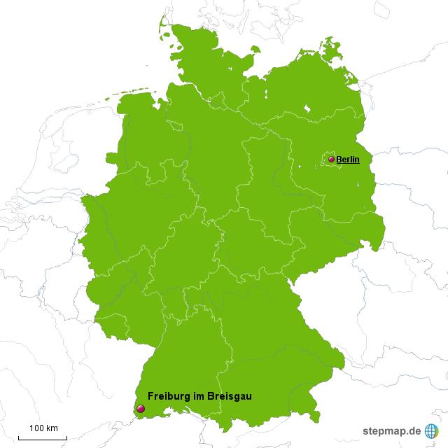 breisgau karte StepMap   Freiburg im Breisgau Karte   Landkarte für Deutschland