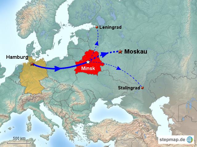 Stalingrad Karte Europa.Stepmap Frontverlauf 1944 Landkarte Für Europa