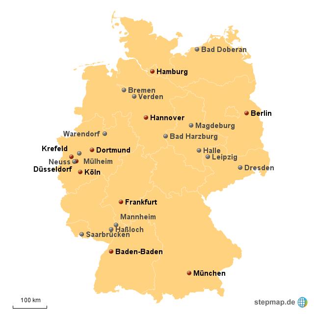 Galopprennbahnen Deutschland