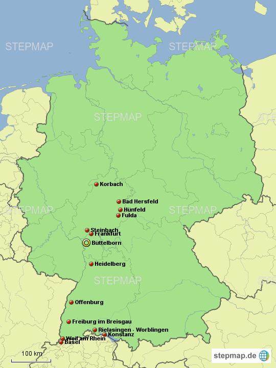 Stepmap Geburtstag Opa Landkarte Fur Deutschland