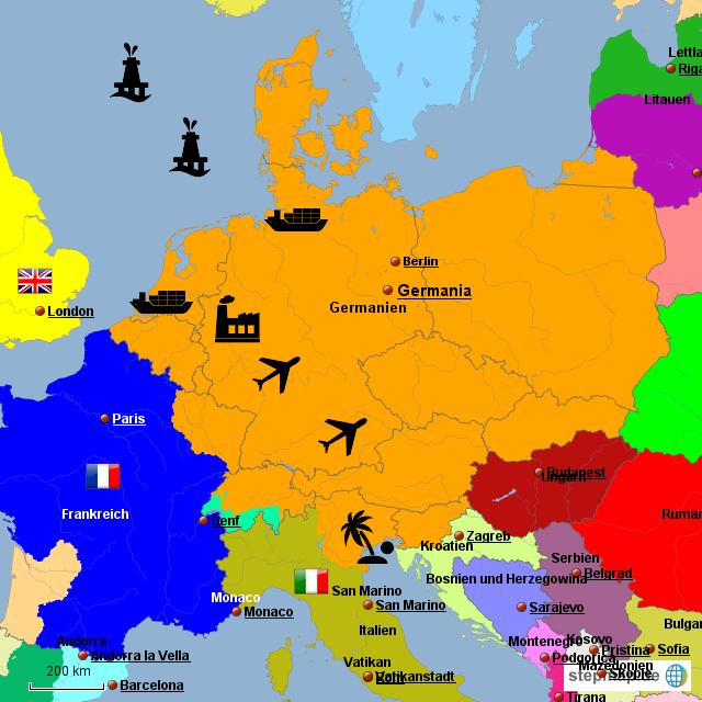 germanien karte StepMap   Germanien   Landkarte für Deutschland