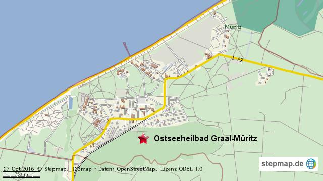 graal müritz karte StepMap   Graal Müritz   Landkarte für Welt