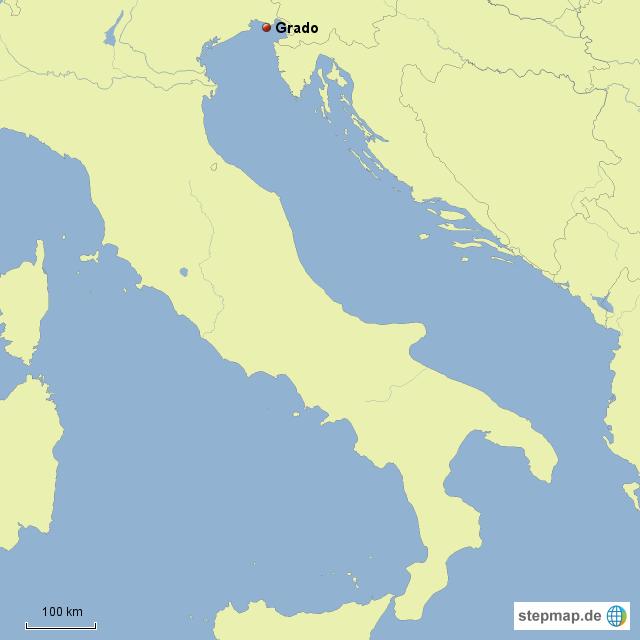italien landkarte grado StepMap   Grado in Italien   Landkarte für Italien