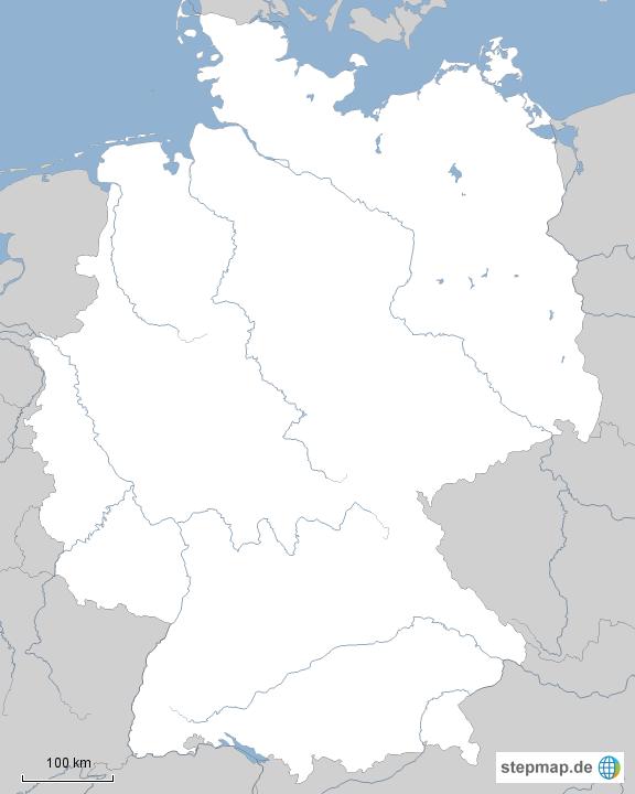 Deutschland Karte Registrieren