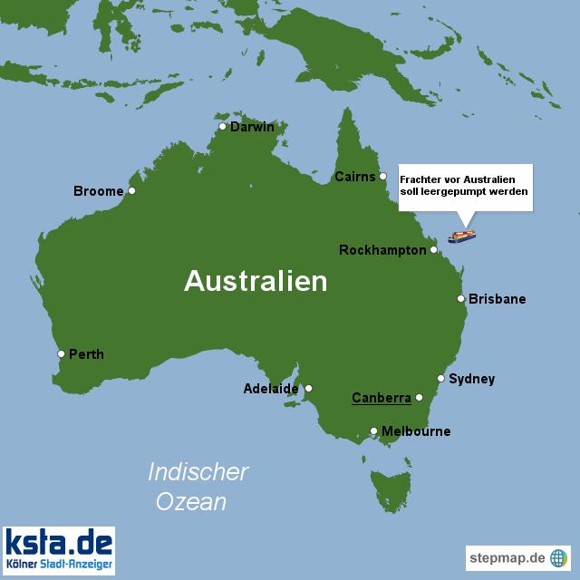 Great Barrier Reef Karte.Stepmap Great Barrier Reef Gefährdet Landkarte Für Deutschland
