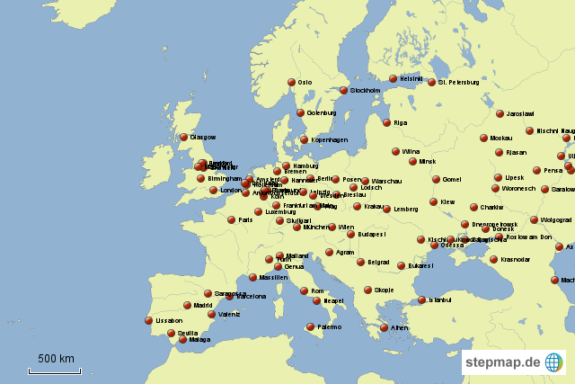 weekend städte europa