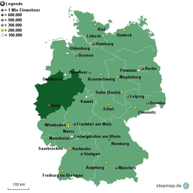 großstädte deutschland einwohner