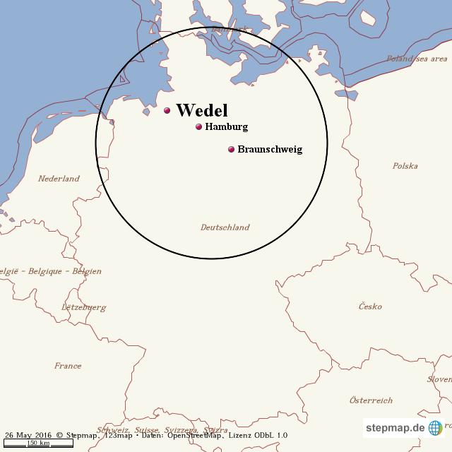 wedel hamburg karte StepMap   Hamburg Wedel   Landkarte für Welt