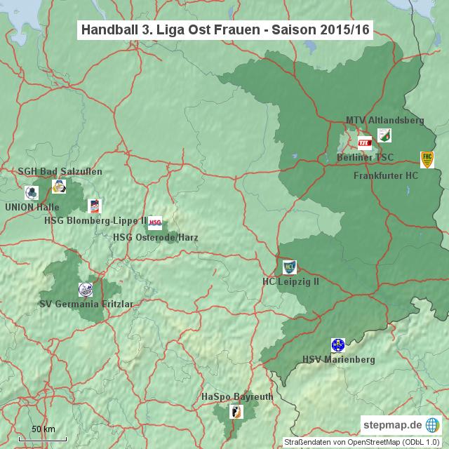 Handball Dritte Liga Ost