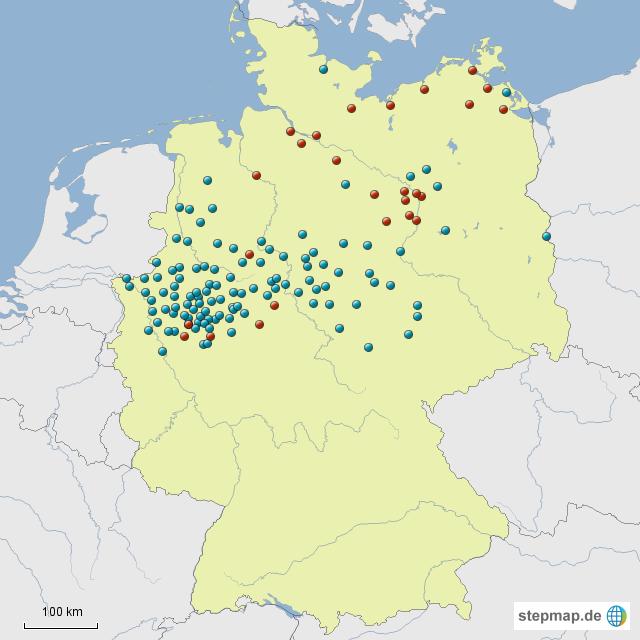 hansestädte deutschland karte StepMap   Hansestädte morgen?   Landkarte für Deutschland