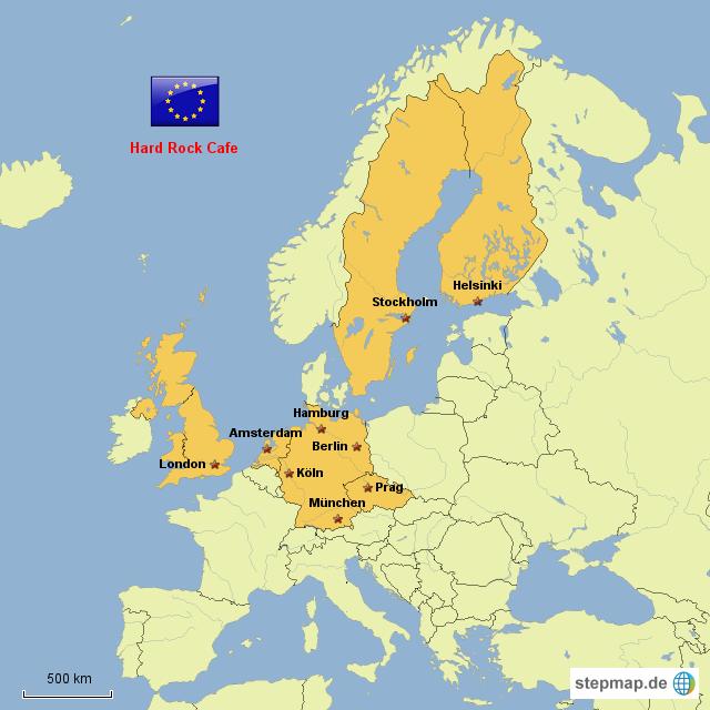 Hard Rock Cafe Standorte Deutschland