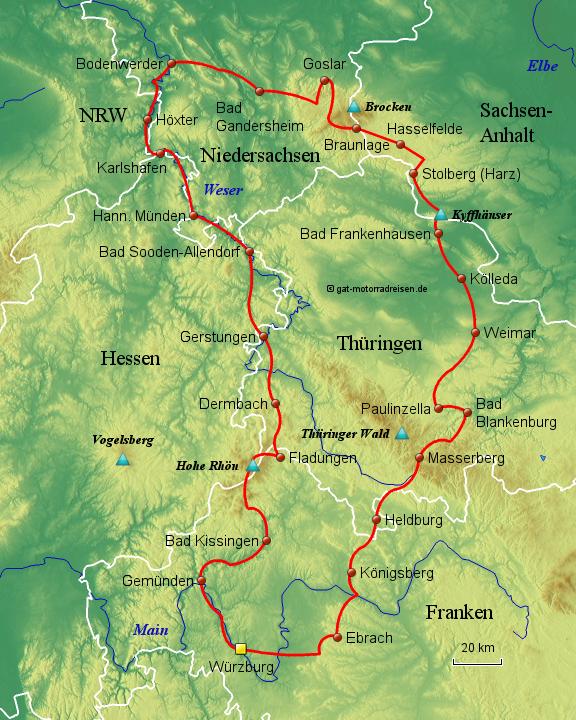 harz landkarte StepMap   Harz   Landkarte für Deutschland harz landkarte