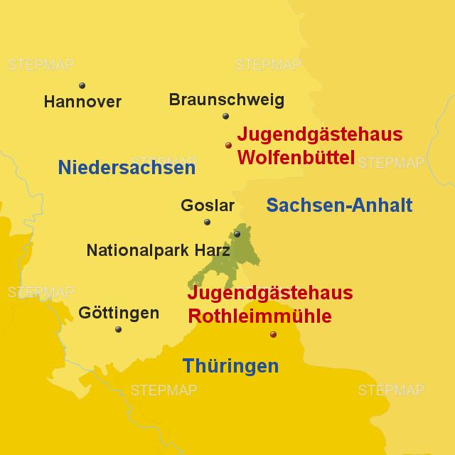 Stepmap Harz Sp Wolfenbuttel 2018 Katalog Landkarte Fur